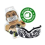 DAMAGE CONTROL High Impact Mouth Guard, Mouthguards for Sports, Boxing, Roller Derby, Hockey, Lacrosse Mouth Guard, Mouth Guards with Ultra Fit and Protection Against Shock (Black, Adult)