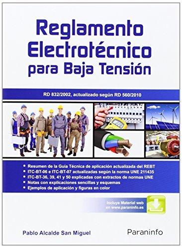 Reglamento electrotécnico para baja tensión (Electricidad Electronica)