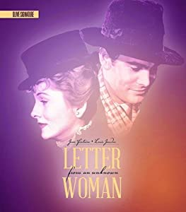 Letter From an Unknown Woman (Olive Signature) [Blu-ray]