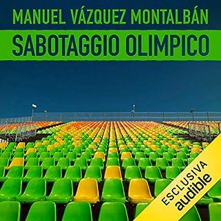 Sabotaggio olimpico copertina