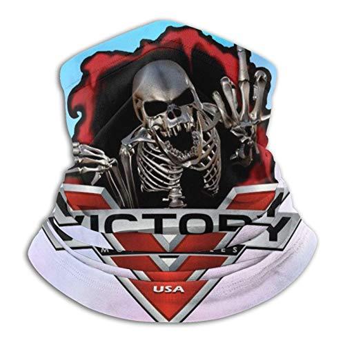 Victory Motocicletas - Funda para la boca, bufanda para cuello, funda para la cara, protección para deportes y exteriores