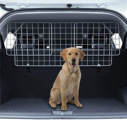 Flashing Barrera De Protección del Viaje De Los Obstáculos De Seguridad del Perro Ajustable De La Cerca del Animal Doméstico del Coche