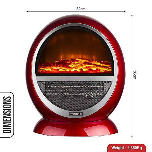 Warmex PTC Room Heater Bonfire 1500 Watts