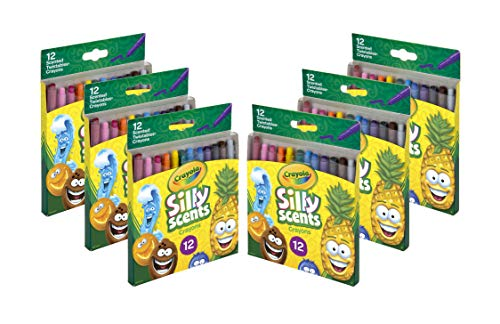 Crayola Silly Scents Twistables Crayons, Bulk Crayon Set, 6 Sets