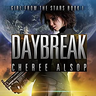 Daybreak     Girl from the Stars, Book 1              By:                                                                                                                                 Cheree Alsop                               Narrated by:                                                                                                                                 Michele Carpenter                      Length: 6 hrs and 39 mins     22 ratings     Overall 4.0