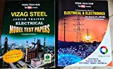 VIZAG STEEL JUNIOR TRAINEE ELECTRICAL BOOK + MODEL TEST PAPERS 2020( Two books)