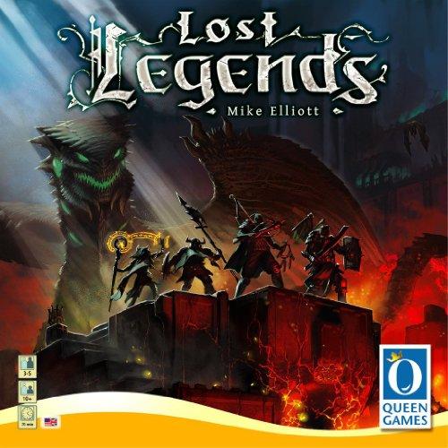 Queen Games Lost Legends Jeu de Cartes