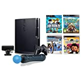 Sony PS3 Sports Champions Move System Bundle w/ Heroes and Carnival Island