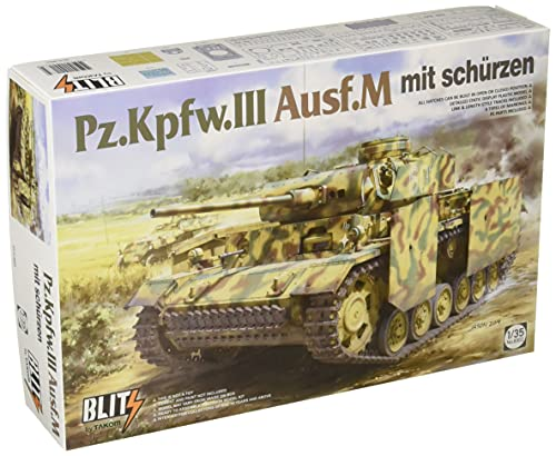 タコム ブリッツ 1/35 ドイツ軍 3号戦車 M型 w/シュルツェン (タコム・TAKOMブランド) プラモデル TKOB8002