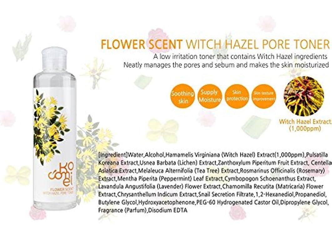 エンジン会計配偶者Kocomei Flower Scent Toners 250ml/Korea Cosmetic (Witch Hazel Pore Toner)