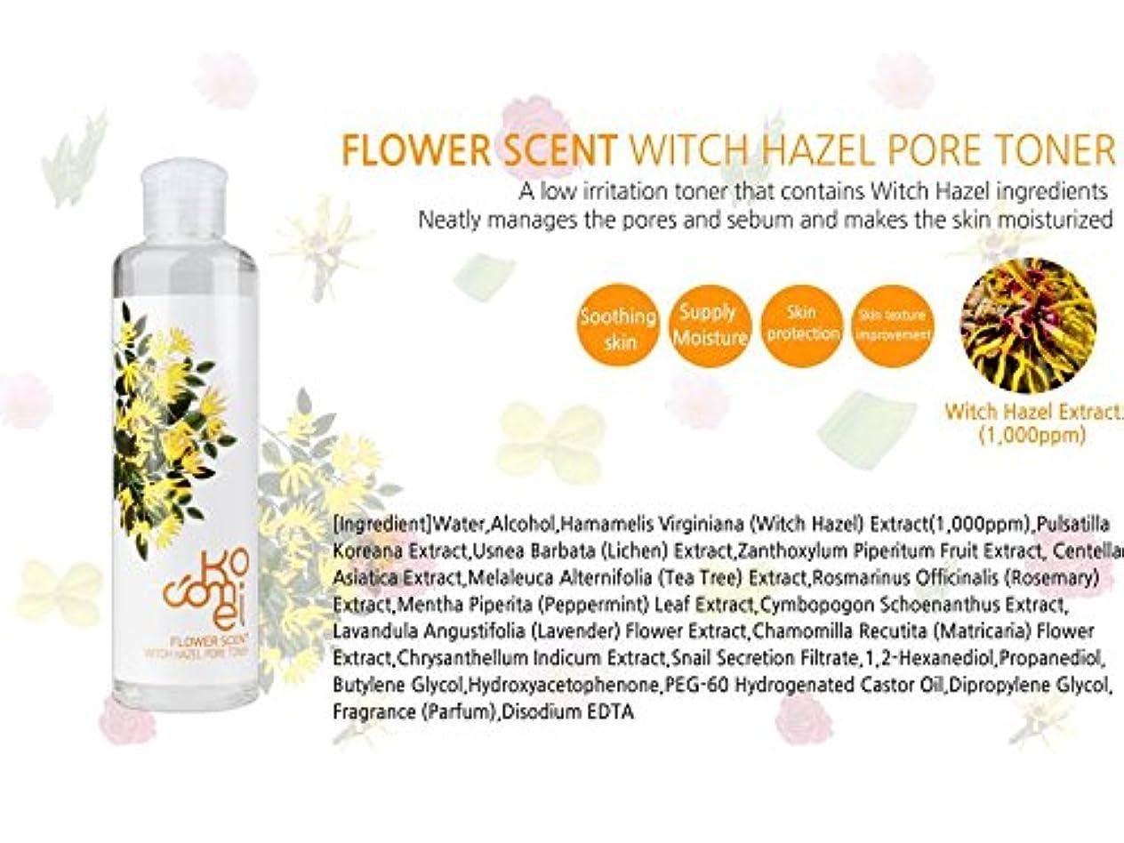 義務付けられたコミュニケーションせせらぎKocomei Flower Scent Toners 250ml/Korea Cosmetic (Witch Hazel Pore Toner)