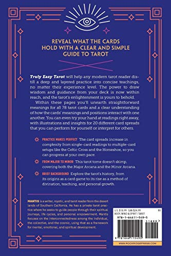 Truly Easy Tarot: Simple Readings and Practical Teachings