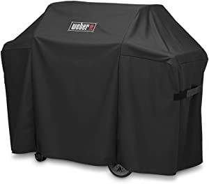 Grill Cover 7130 for Weber Genesis II 3 Burner Grill and Genesis 300 Series Grills (58 X 25 X 44.5 inches)