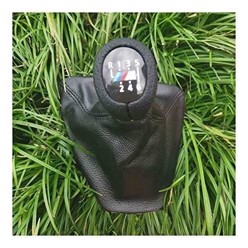 XHSM Gangschaltung Stock-Teile Shifter Galtor Stiefel Für BMW E90 E91 E92 Linke Hand Fahren LHD Schaltknauf Lederstiefel 5 Geschwindigkeit 6 Geschwindigkeit Auto Schaltknauf (Größe : F)