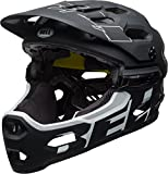 Bell Super 3R Mips Casco da bicicletta, Unisex, Super 3R MIPS, Matte Black/White, M