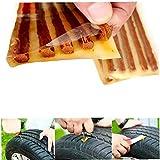 Zonster 5pcs / neumático sin Tubo de reparación de automóviles Bici de la Vespa Motocicleta del Coche de Goma Tiras de reparación de neumáticos sellador de neumáticos Reparing de Gaza