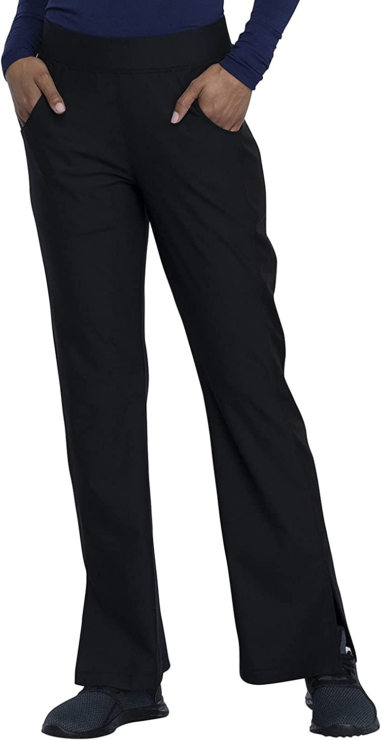 Cherokee Form Women Scrubs Pant Mid Leg Rise Moderate Max 69% OFF Flare All items free shipping Pull