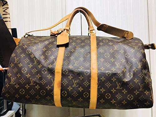 Louis Vuitton monogram canvas Keepall 55 Luggage M41414