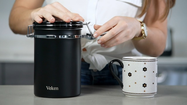 Get 19% off a airtight coffee canister