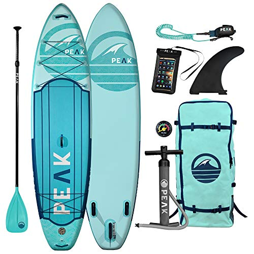 Peak Expedition Inflatable Stand Up Paddle Board |...