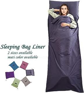 Sleeping Bag Liner Travel Camping Sheet Lightweight Hotel Compact Sleep Bag Sack