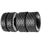MaxAuto ATV/UTV Tires 22x7-10 22x7x10 Front & 22x11-9 22x11x9 Rear ATV Sport Quad Tire Mud Sand Trail Tires 4PR,Set of 4