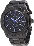 Swiss Precimax Men's SP12155 Valor Elite Black Dial with Black Stainless Steel Band Watch
