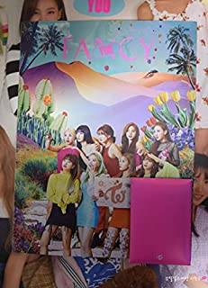 Twice 7th Mini Album Fancy You [B ver] CD+Photobook+5 Photocards+Sticker+Official Folded Poster+KPOP Idol Mask+Extra Photo...