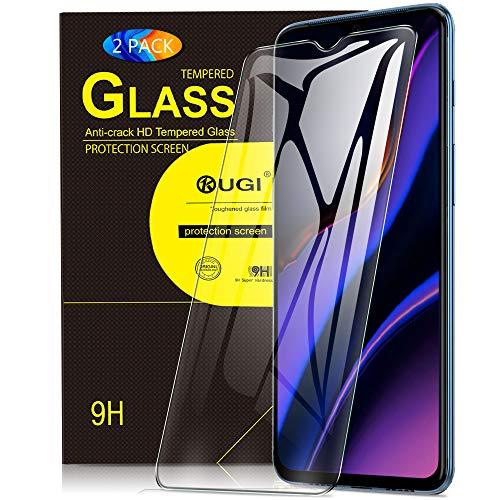 KuGi. Panzerglasfolie Schutzfolie für Oneplus 7, Oneplus 7 Schutzfolie 9H Hartglas HD Glas Blasenfrei Displayschutzfolie passt für Oneplus 7 Smartphone. Klar [2 Pack]