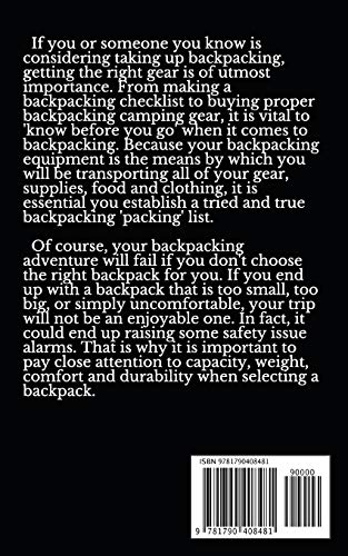 Select Your Ideal Backpack For A Lifetime: Backpacking Hacks For Adventure S... - 51zd1Apy3QL