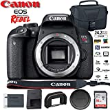 Canon EOS Rebel T7i DSLR Camera (1894C001) (Kit Box) USA Model with DSLR EOS Bag and 16GB Memory Card - Starter Set