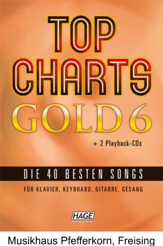 Hage - Top Charts Gold 6 + 2 CD's by Hage Musikverlag