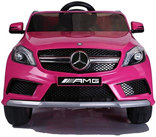 RC Auto kaufen Kinderauto Bild 2: SIMRON - Mercedes-Benz A45 AMG SUV Ride-On 12V Kinderauto Kinderfahrzeug (Schwarz)*