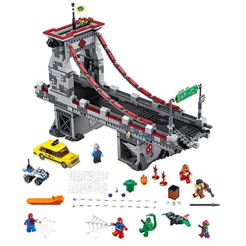 LEGO Marvel Super Heroes Spider-Man: Web Warriors Ultimate Bridge 76057 Spiderman Toy