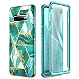 SURITCH for Samsung S10 Case Silicone with Built-in Screen