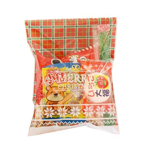 クリスマス袋 110円 お菓子 詰め合わせ 駄菓子 袋詰め おかしのマーチ