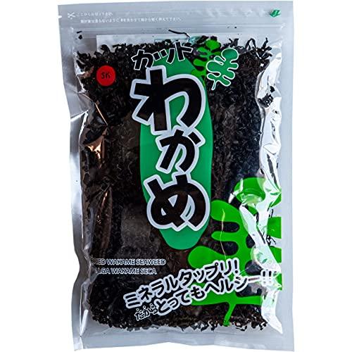 Wakame Sushi King de 100g - [Sin gluten & Halal] - Algas Deshidratada para Sopa de Miso, Ensaladas y más