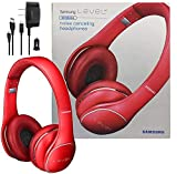 Samsung Level On Wireless Noise Canceling NFC Headphones Red - Universal Bluetooth