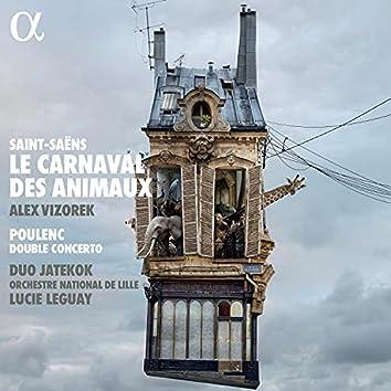 Saint-Saëns: Le carnaval des animaux - Poulenc: Double Concerto