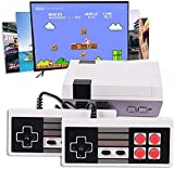 Acirr Classic Handheld Game Console, Built-in 620 Classic Games and 2X4 NES Classic Button Controller Av Output Video Games