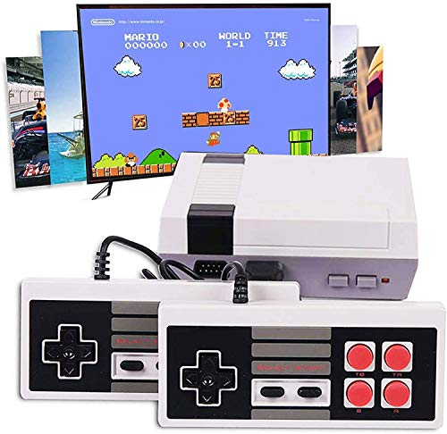 SMALIFE Mini Retro Game Console, Built-in 620 Classic Games and 2X4 NES...