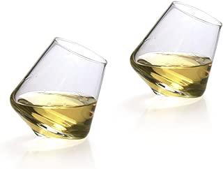 Set of 2 Hand-made SEMPLI Cupa Shot Liqueur Glasses
