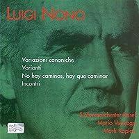Nono: Orchestral Works