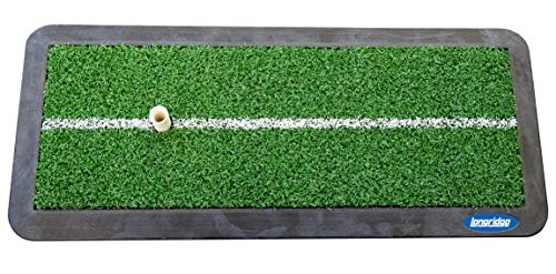 Longridge Unisex's Launch Driving Mat, Green, One Size