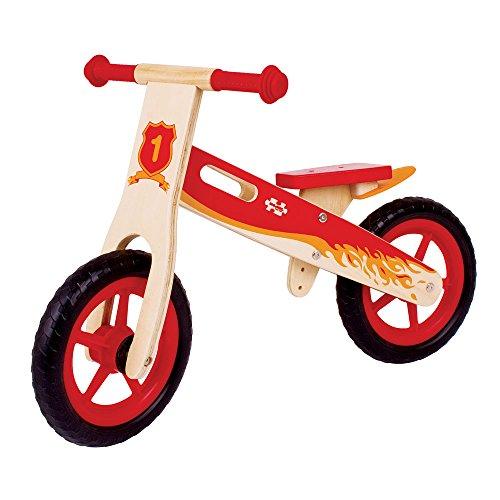 Bigjigs Juguetes Mi Primera Bicicleta de Equilibrio (Rojo)