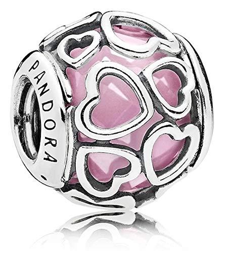 Pandora Damen-Bead Charms 925 Sterlingsilber 792036PCZ