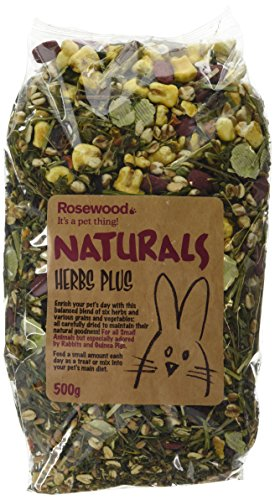 Naturals Rosewood Herb Plus Small Animal Treat (500g)