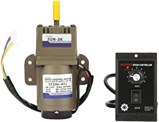 KEKEYANG AC Motor del Engranaje, Engranaje asíncrono monofásico de desaceleración del Motor de Velocidad for Motor 220V 6W (3K) Industrial