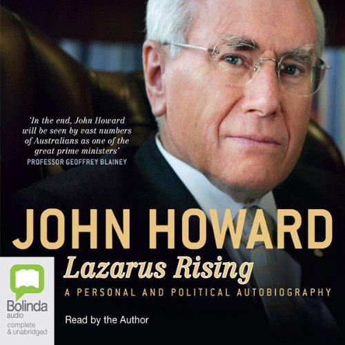 Lazarus Rising Titelbild