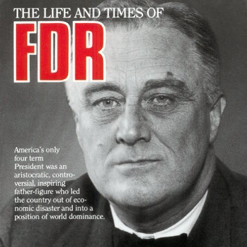 Franklin Delano Roosevelt audiobook cover art